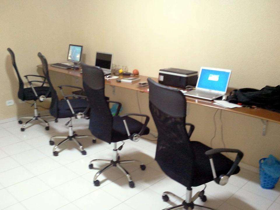 Primeiro escritório da SAUTO