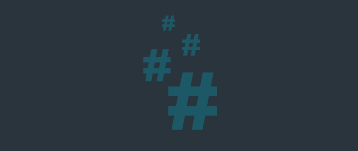 Como usar hashtags da forma certa